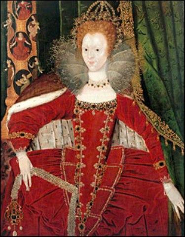Red  Velvet Elizabethan