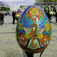 Пасха в Киеве: Фестиваль писанок 2017