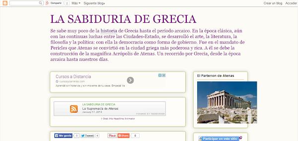 La sabiduría de Grecia