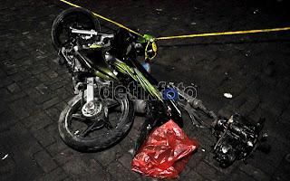 Foto Kecelakaan Bus di Cisarua Bogor