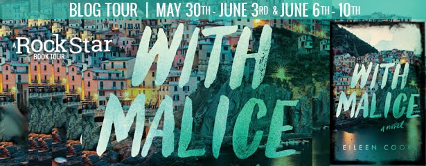 With Malice Tour + Giveaway thru 6/12