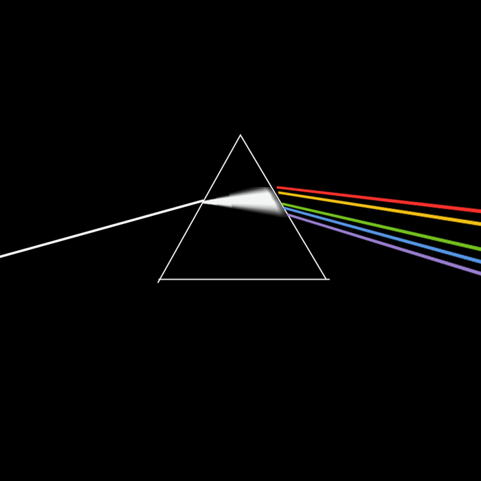 Portada del álbum de Pink Floyd, Dark Side of the Moon | Ximinia