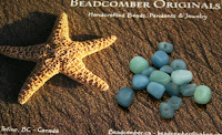 Amazonite nuggets in my soup from Tina Holden @ Beadcomber Originals :: All Pretty Things