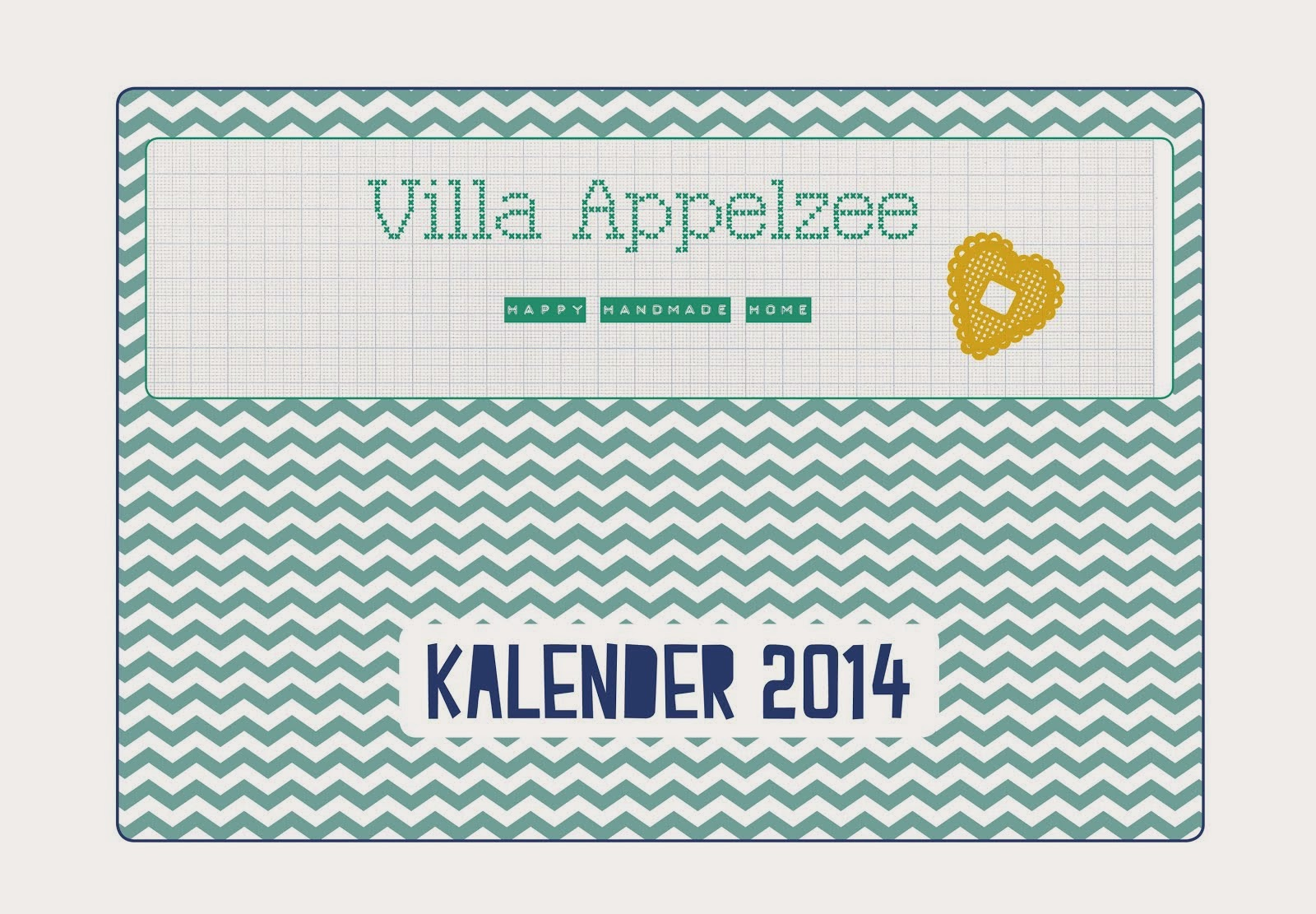 VILLA APPELZEE KALENDER 2014