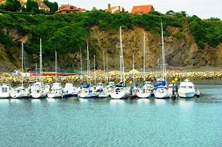 Luanco, puerto deportivo