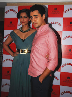 Sonam Kapoor and Imran Khan Launches Stardust Magazine (15).JPG
