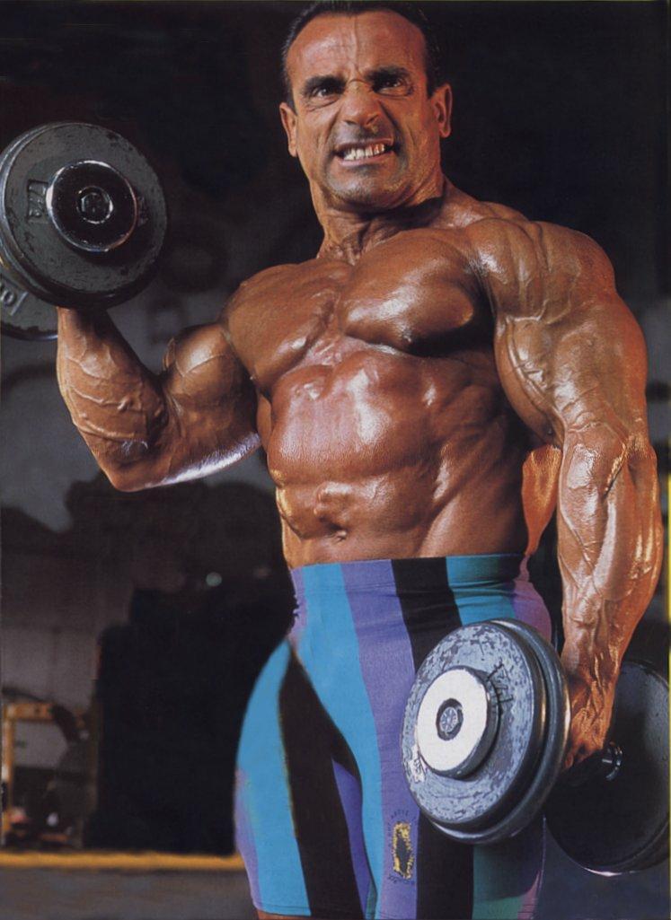 Flavio Baccianini | Bodybuilders in spandex shorts with
