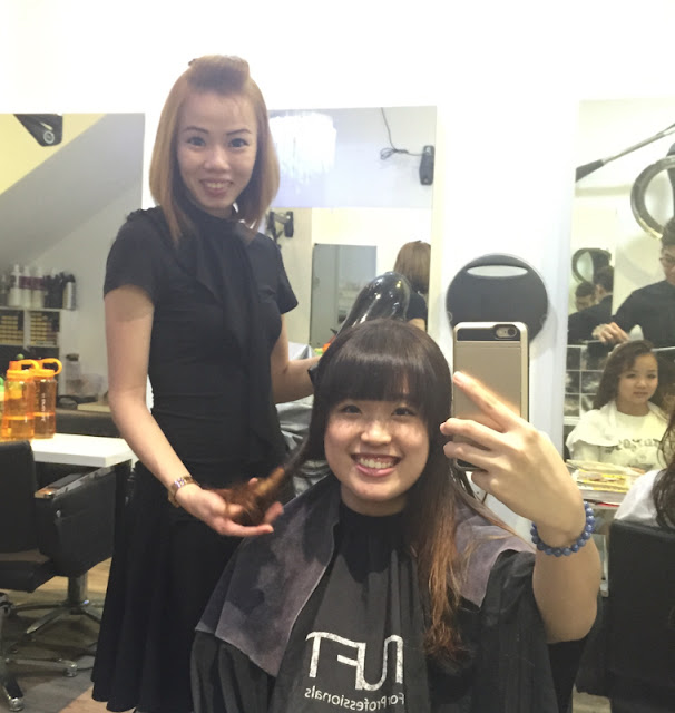 Soteria Hair Studio Review Lunarrive Singapore Lifestyle Blog