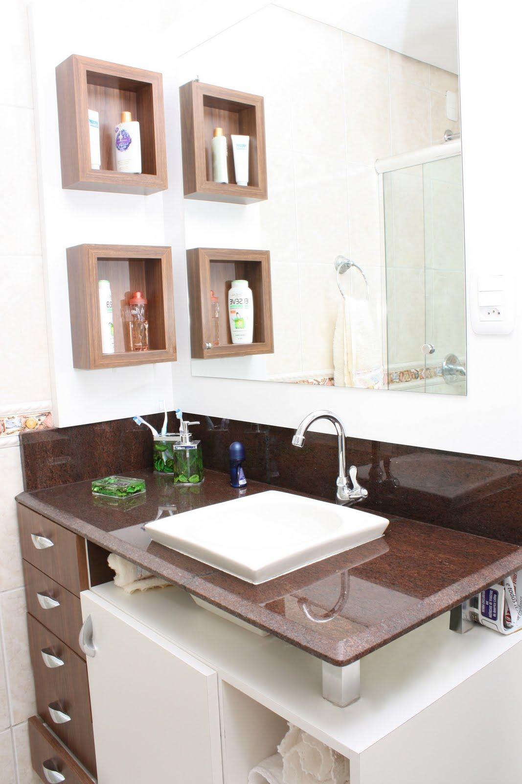Casa da Sheila: Tons de granito e mármore #446833 1067x1600 Banheiro Bege E Marrom