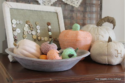 Baker's Twine Pumpkin Craft