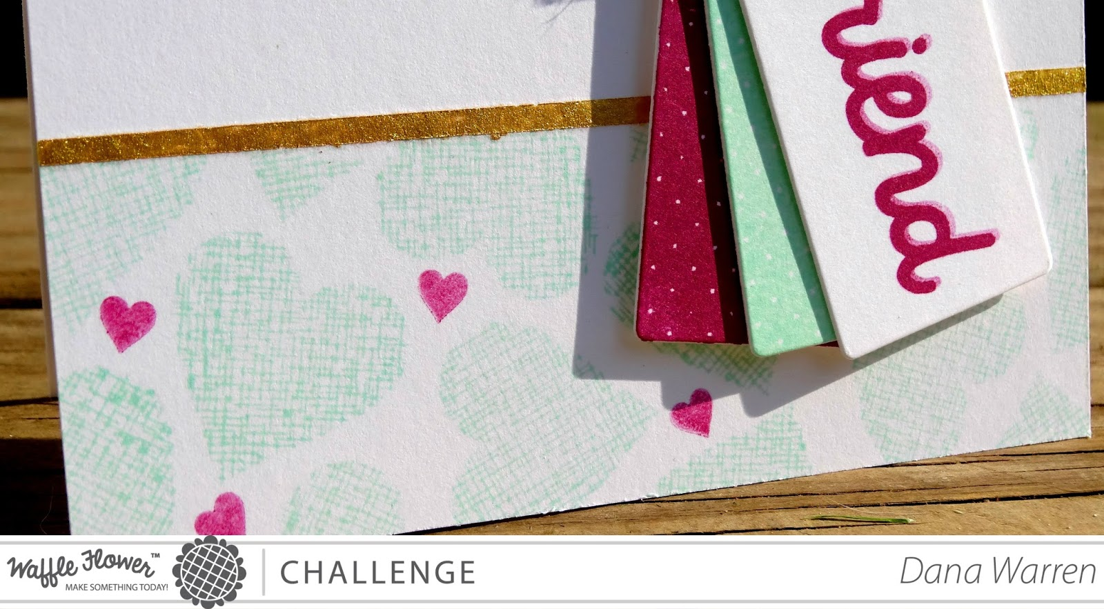 Dana Warren - Kraft Paper Stamps - Waffle Flower Crafts