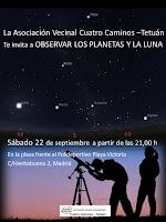 Observar los planetas y la luna