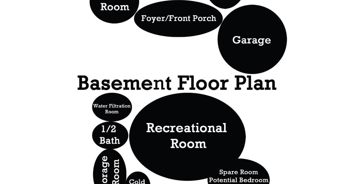 2011 Technological Design Floor Plan Bubble Diagram Final