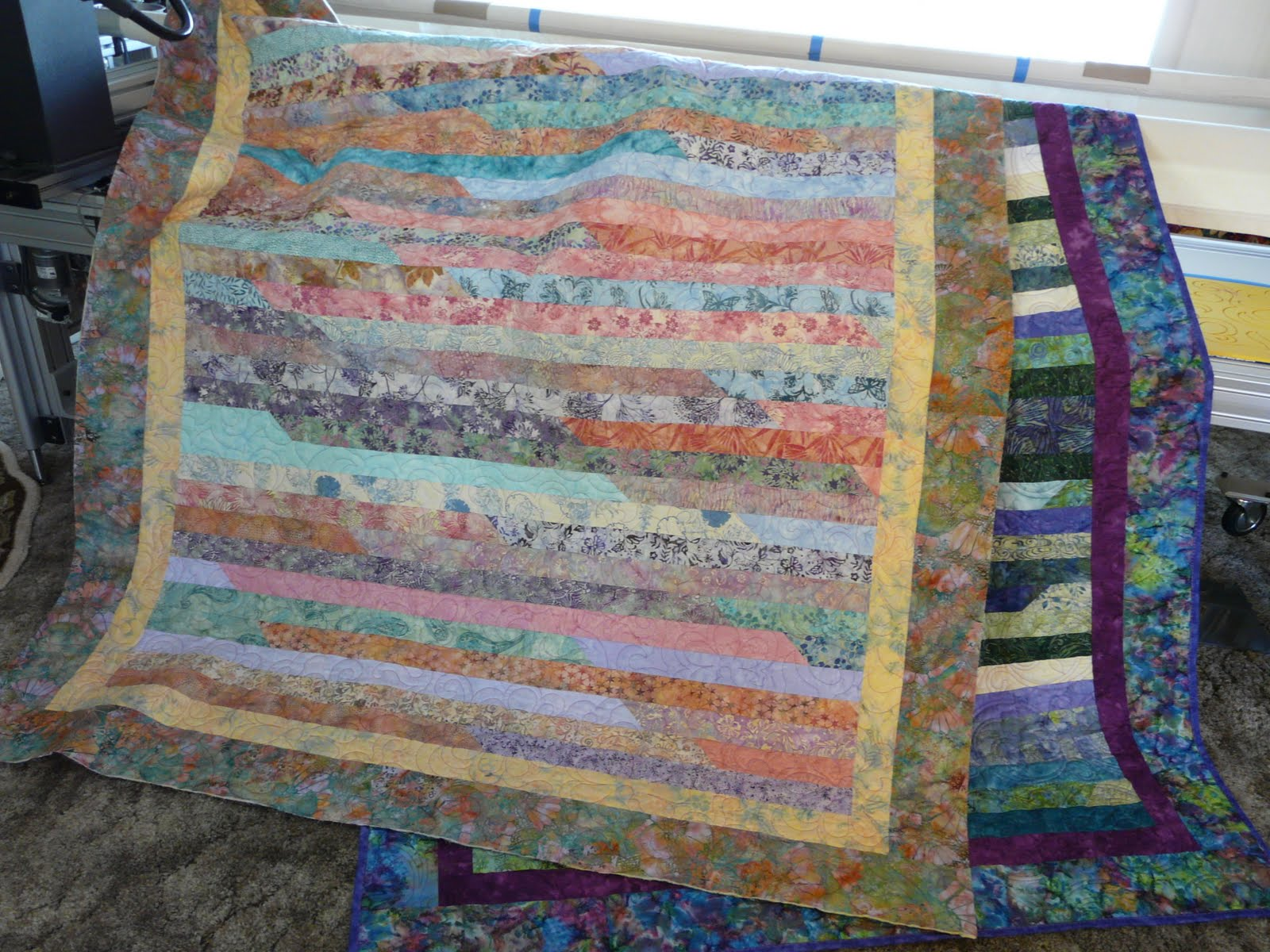 Timber Hill Threads: Jelly Roll Race Quilts