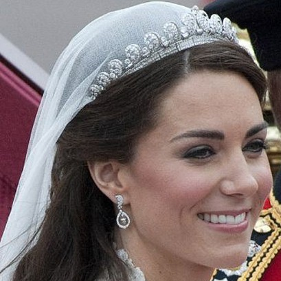 How not to do bridal makeup - Kate Middleton Style