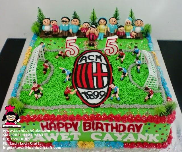 Kue Tart Ulang Tahun AC Milan