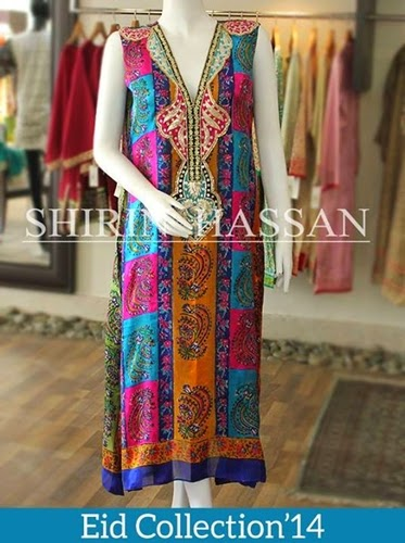 Shirin Hassan Eid Collection 2014