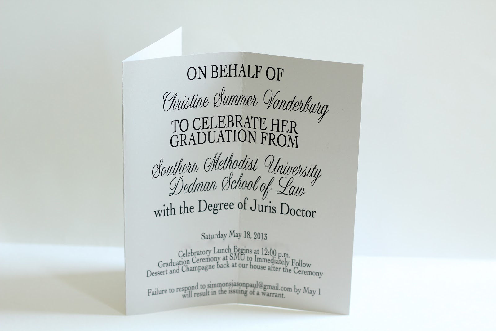 make something law school graduation invitations - Law School Graduation Invitations