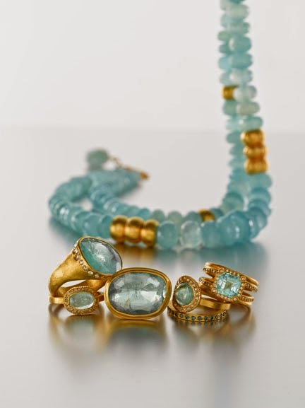 Paraiba Tourmaline Set In Handcrafted 24k Gold By Yossi Harari From His Collection 13