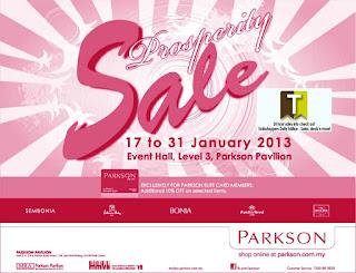Parkson Prosperity Sale 2013