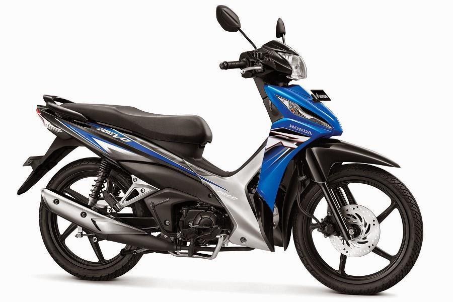 Warna Honda Revo CW PGM-FI biru