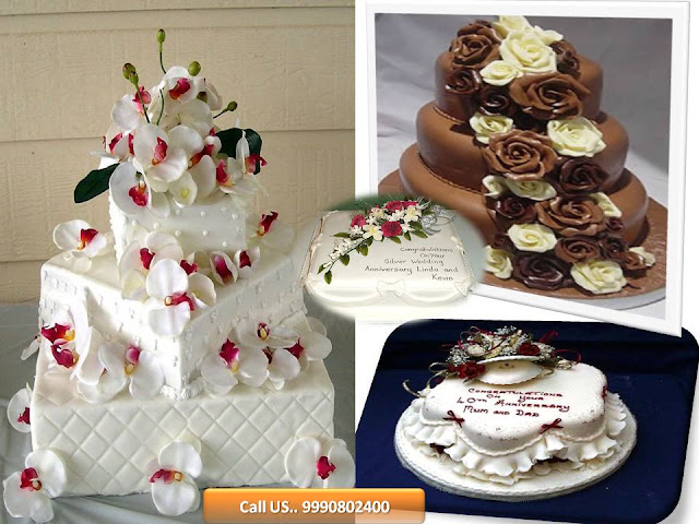 Wedding Chocolates Cake