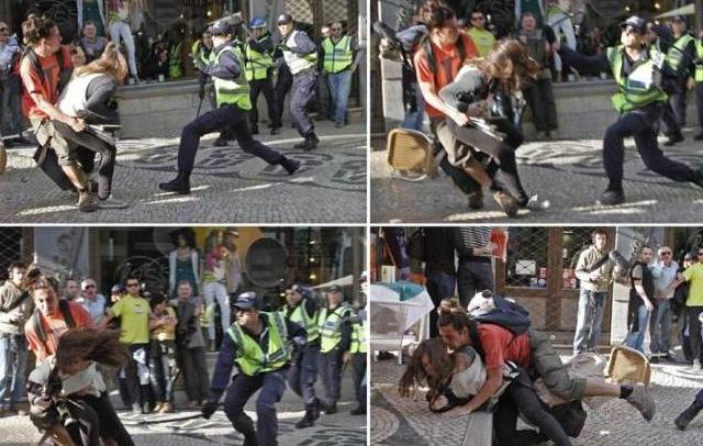 Portugal: POLÍCIA COM MORDOMIAS E MAIS ONEROSA PARA ESPANCAR E REPRIMIR?