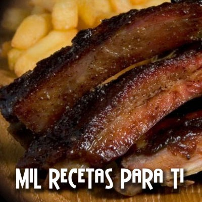 Costillas de cerdo a la barbecue