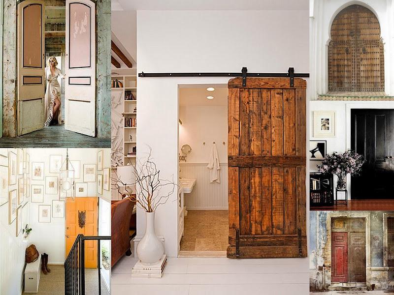 Interior Barn Door Wall Ideas