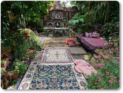 trädgårds inspiration