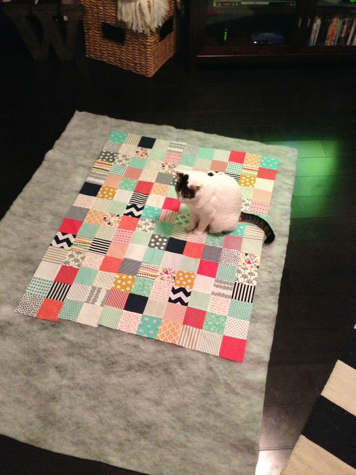 Muffins + Marathons: My quilt for Baby Girl : baby floor quilt - Adamdwight.com