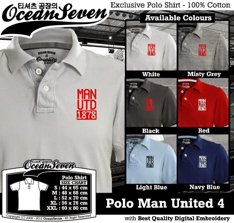 Kaos Polo Man United 4