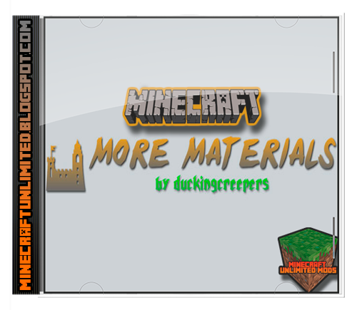 More Materials Mod Minecraft