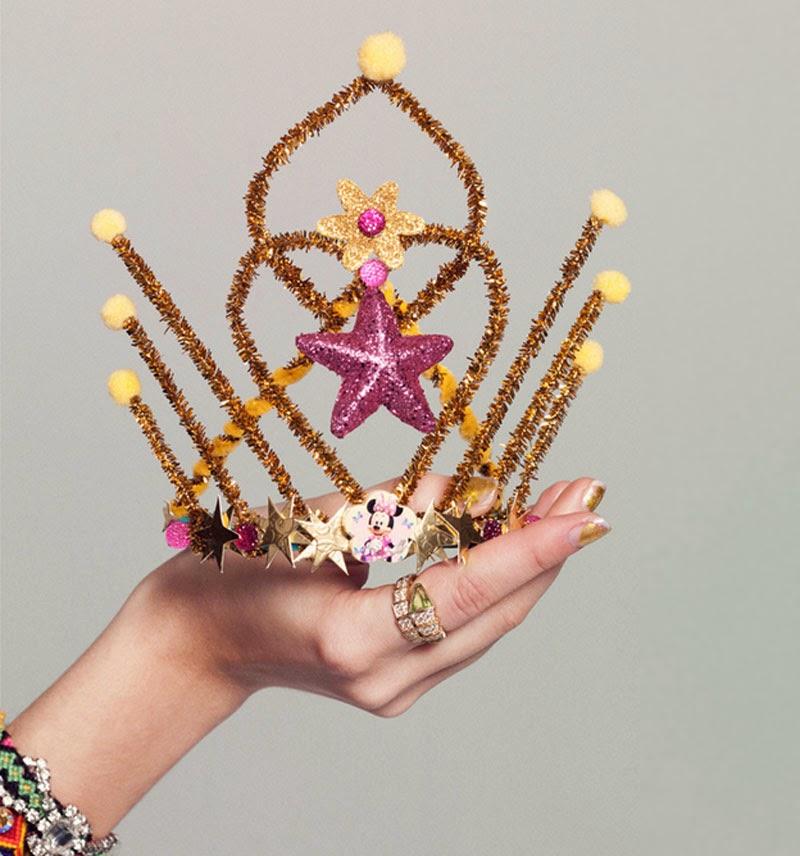 Ideas diy de c mo hacer coronas de reyes magos o tiraras - Ideas para reyes ...