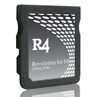 cartão R4 ou flash card para nintendo ds