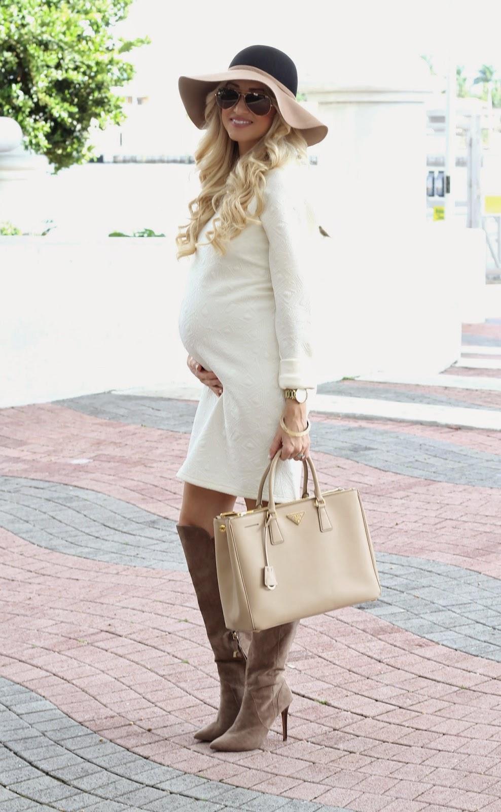 Модные луки для беременных 70