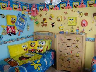 quarto do bob esponja