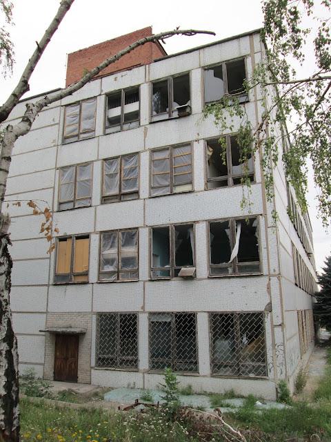 Разрушения Славянск 2014
