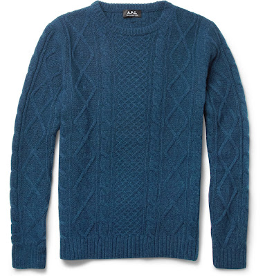 00O00 Menswear Blog London Erdem Moraglioglu APC Wool Cable knit jumper Tim Walker exhibition London