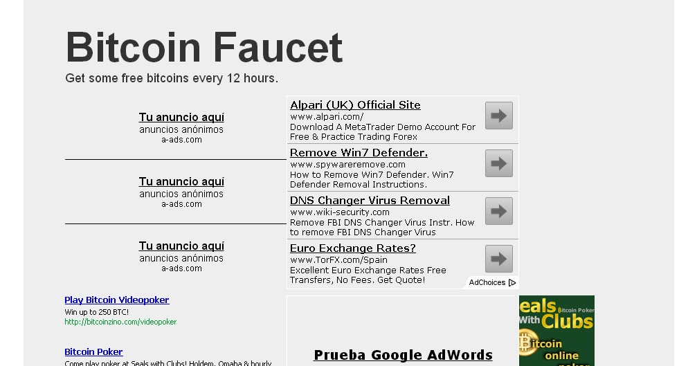 The Bitcoin Master: Site Review: Bitcoin Faucet (5 updates)