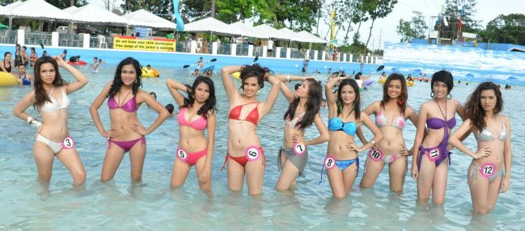 2012+splash+island+bikini+open+female Pictures from The Bikini Open series which aired on television in the 90s as ...