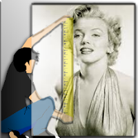 What was the height of Marilyn Monroe?