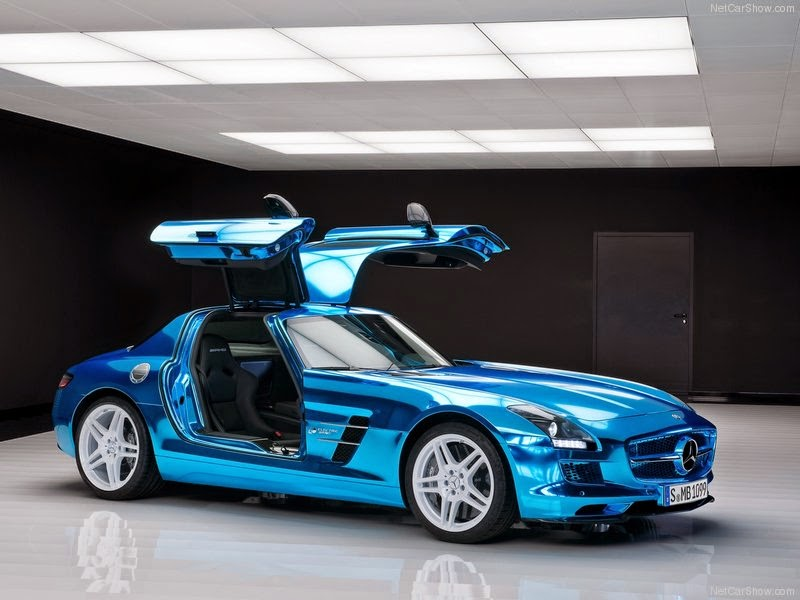 2014 Mercedes-Benz SLS AMG Coupe Electric Drive