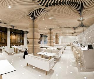 Luxurious Interior Design for Restaurant