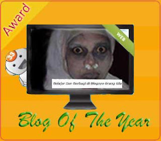 Award blog tergokil 2011