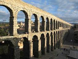Acueducto de Segovia España.