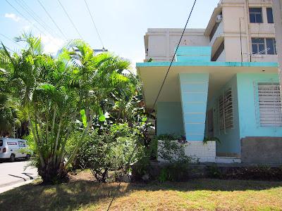 Santiago de Cuba Vista Alegre art deco-style house