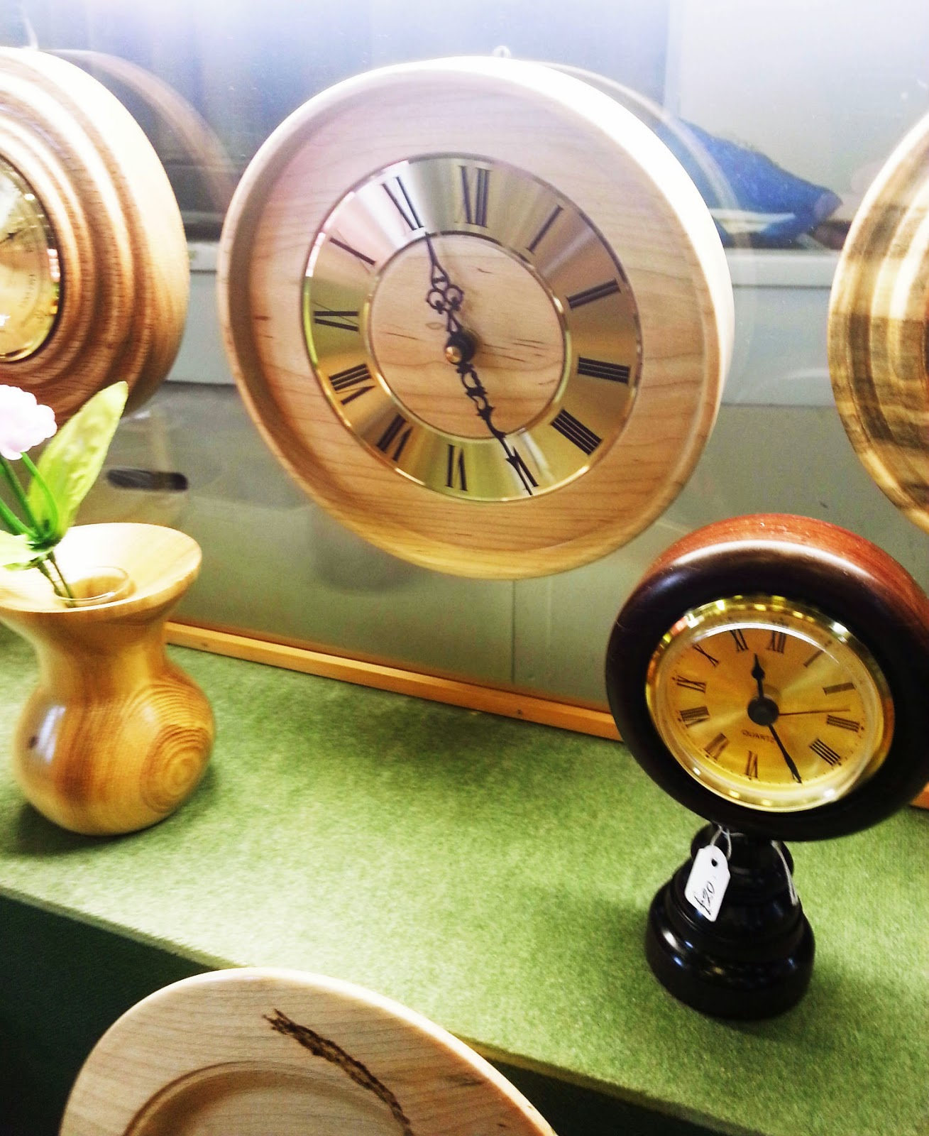 Wiseowls - Pimperne Blandford Wooden clocks