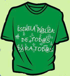 Escuela pública: de tod@s - para tod@s