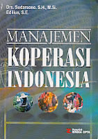 toko buku rahma: buku MANAJEMEN KOPERASI INDONESIA, pengarang sudarsono, penerbit rineka cipta